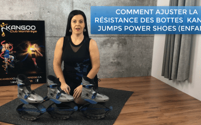 Comment ajuster les bottes Kangoo Jumps Power Shoes Enfants